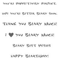 Beary Nice Wishes