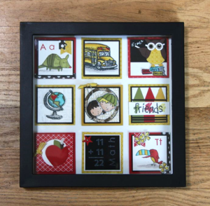 Back to School Framed Art Sampler