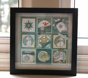 A Wintery Mix Stamped Sampler