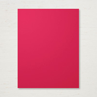 """Real Red 8-1/2"""" X 11"""" Card Stock"""