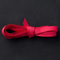 """Real Red 1/4"""" Cotton Ribbon"""