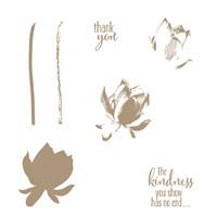 Lotus Blossom Photopolymer Stamp Set
