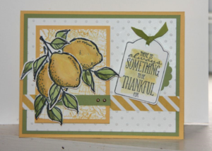 A Happy Thing Card Sample
