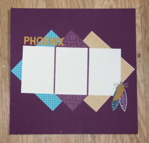 Bohemian Designer Paper Layout