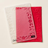 Boughs & Berries Textured Impressions Embossing Folder