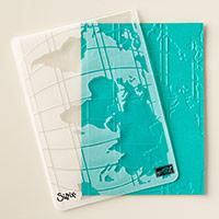 World Traveler Textured Impressions Embossing Folder