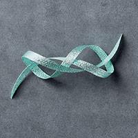 "Pool Party 3/8"" (1 Cm) Glitter Ribbon"