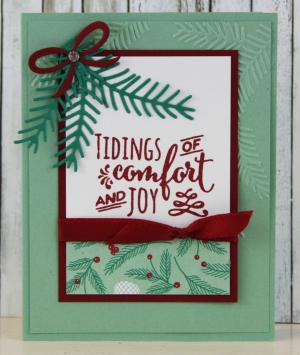 Traditional Christmas Card