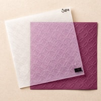 Quilt Top Textured Impressions Embossing Folder