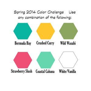 Spring 2014 color challenge