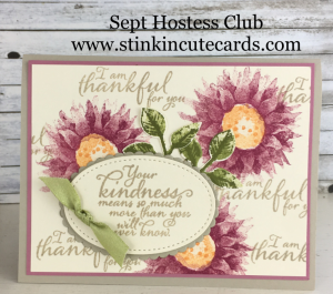 Sept Hostess - Painted Harvest