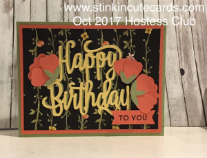 Birthday Greetings HC 2017