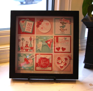 Valentine Framed Art