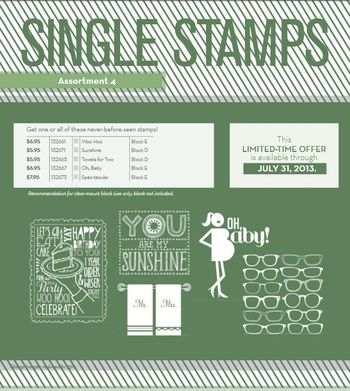 Single Stamp #4